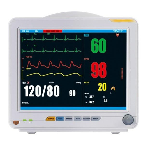 12.1 Inch Patient Monitor Cardiac Monitor ECG Monitor Vital Monitor System (OW-8000G)