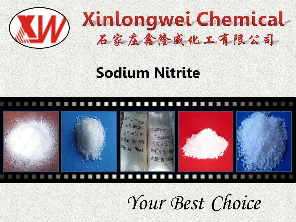 Industrial Sodium Nitrite / Nano2 99%Min with Competitve Price