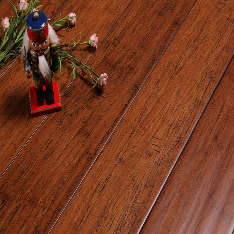 Strand Woven Hs Spice Bamboo Flooring HDF