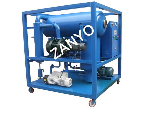 Used Transformer Oil Treating Machine with Functions of Vacuum Drying and Vacuum Oiling, High Dehydration and Degassing