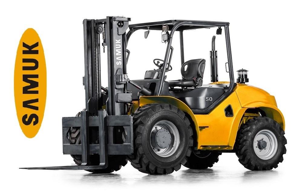 2WD Rough Terrain All Terrain Forklift 4.0-5.0ton
