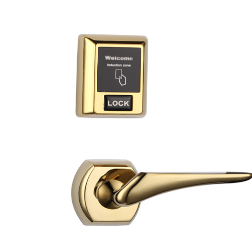 Separate RF57 Hotel Door Lock Unlocked by Card or Emergency Key