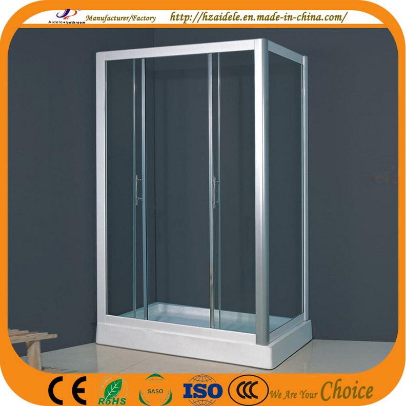 New Design Simple Glass Bath Screen (ADL-8019B)