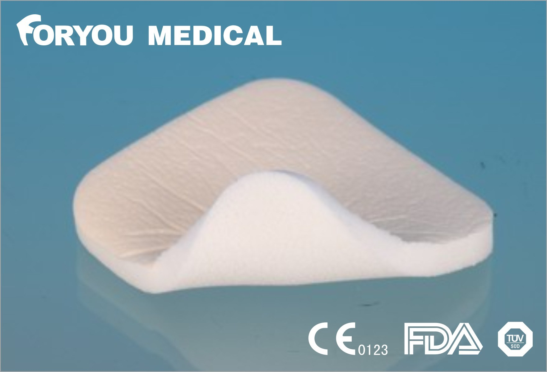 Exuding china medical foam dressing for exuding wounds photos & pictures