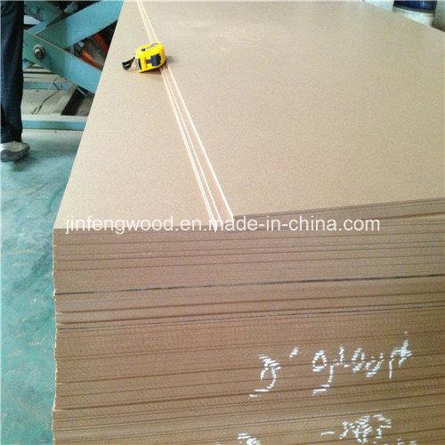 SGS 1220*2440mm Plain HDF /MDF/ 850kg/M3 HDF