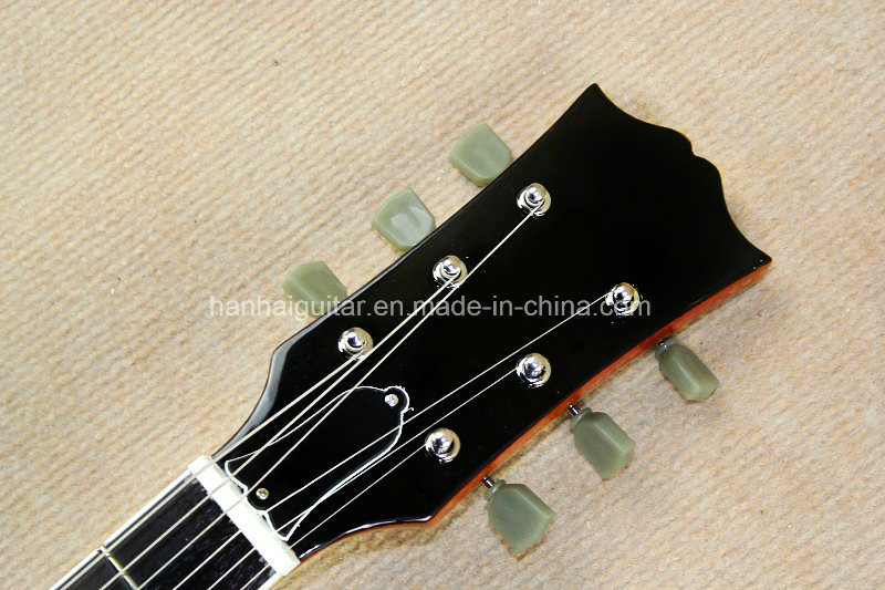 Hanhai Music / Light Brown Lp Standard Style Electric Guitar