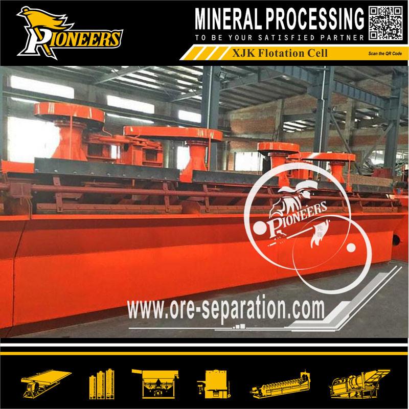 Xjk Copper Lead Zinc Molybdenum Gold Mechanical Agitate Flotation Cell