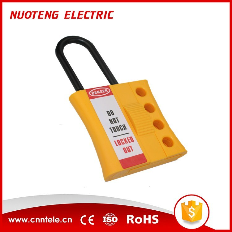 3mm 6mm 4 Hole Non Conductive Nylon Plastic Lockout Hasp