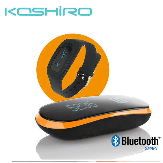 Bluetooth Smart Pedometer with Activity Tracker