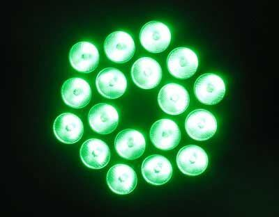 18PCS 15W RGBWA+UV High Quality 6 In1 LED PAR Light with Zoom