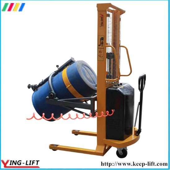 Pneumatia Lifting and Rotating Drum Rotator with 300kg Capacity Da300