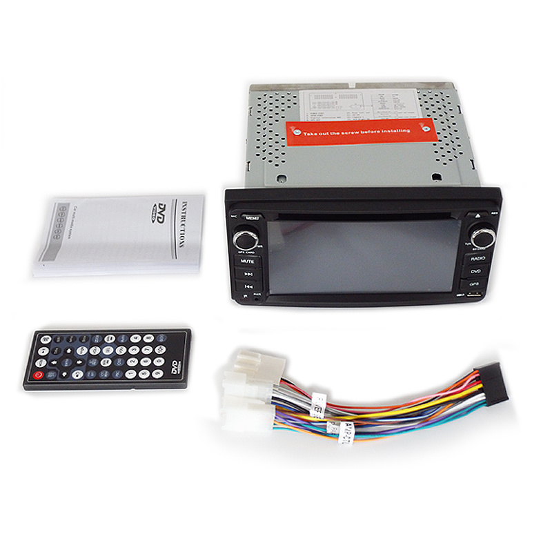 6.5inch Universal Double DIN 2DIN Car DVD Player for Toyota  with Wince System Ts-2650-2
