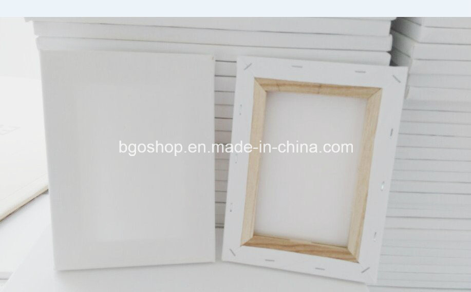 Blank Stretched Canvas (100% Cotton)