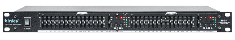 EQ215 PRO Audio Equipment Speaker Processor Graphic Equalizer