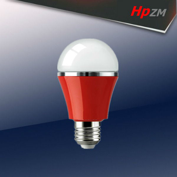 E27 SMD Light Aluminum with Plastic LED Bulb