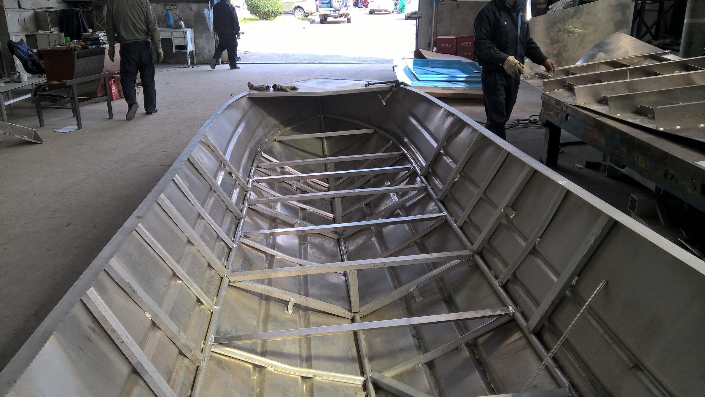 Beautiful Aluminium Fishing Boats (OV3-17)