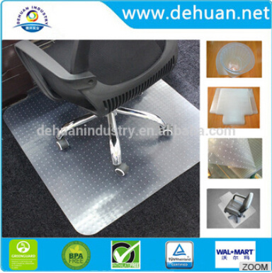 Clear PVC Chair and Car Floor Mat Price for Promotion