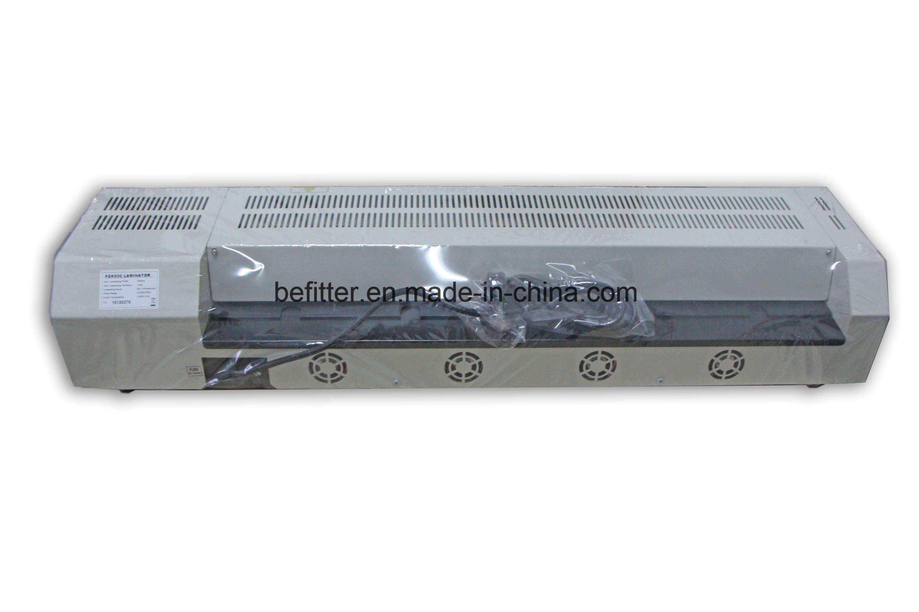 FGK-650 A1 laminator, desktop pouch laminator