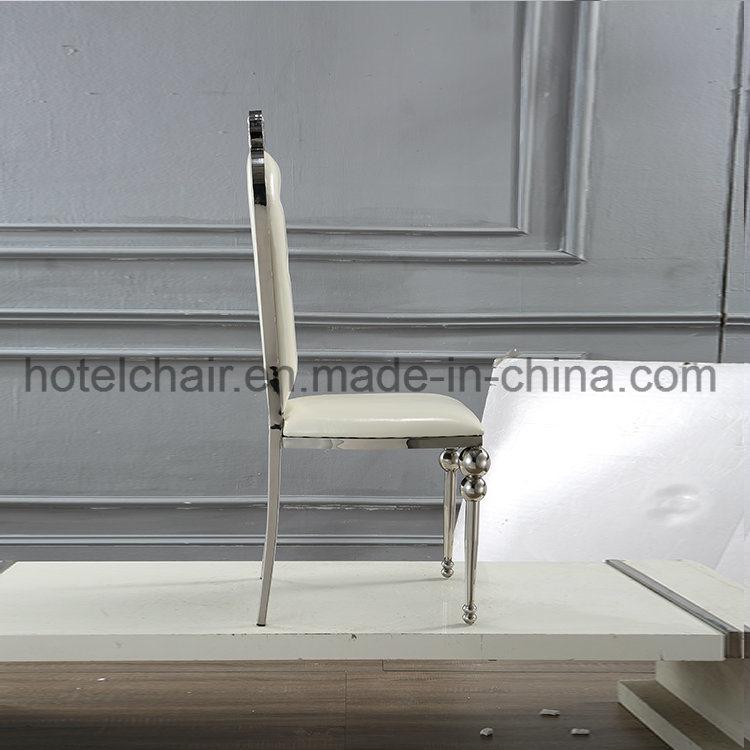 Hot Modern Design Hotel Metal Furniture Banquet Chair with PU Cushion