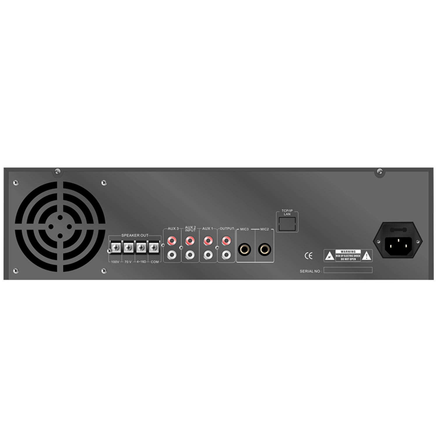 Public Address 3u Power Amplifier Se-800 Series