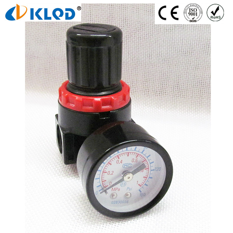 1/4 Inch Alloy Material Air Compressor Pneumatic Air Regulator Br2000