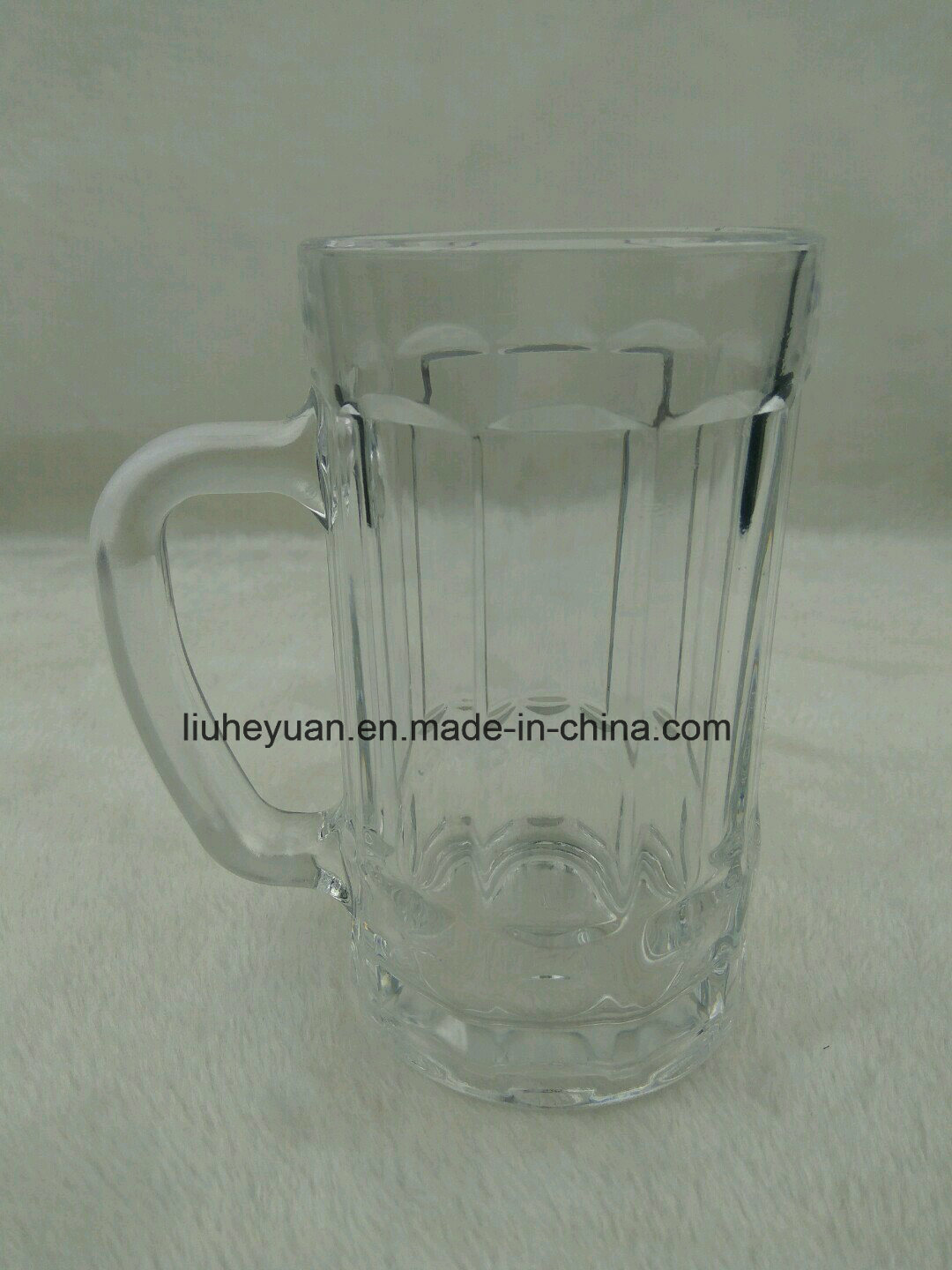 375ml High Quality, High Clear, Beer Glass Cup with Handle, Water or Tea Glass Cup