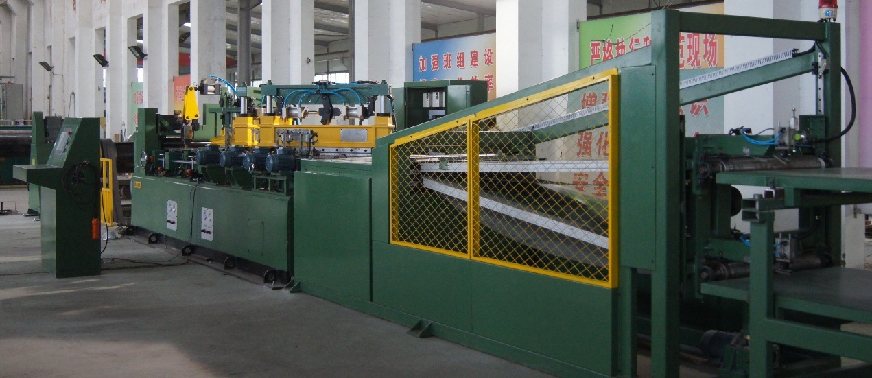 600mm Ctl - Two Cutter and Two V Notch Cut to Length Line