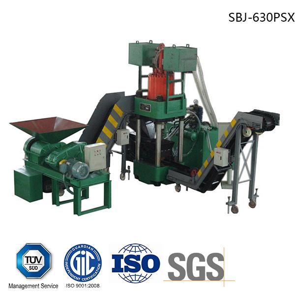 Briquetters Automatic Aluminum Iron Metal Scrap Hydraulic Briquette Recycling Machine-- (SBJ-630)