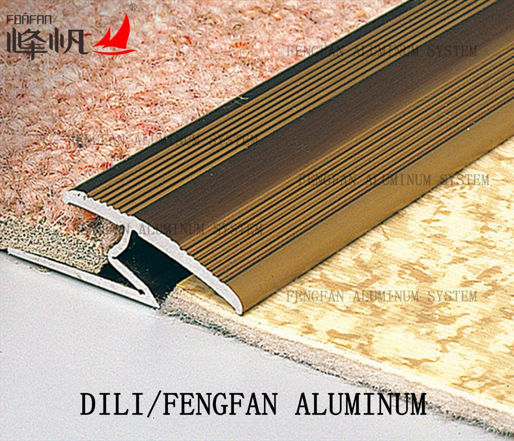Aluminum Carpet Profile Z Edge Carpet Trim