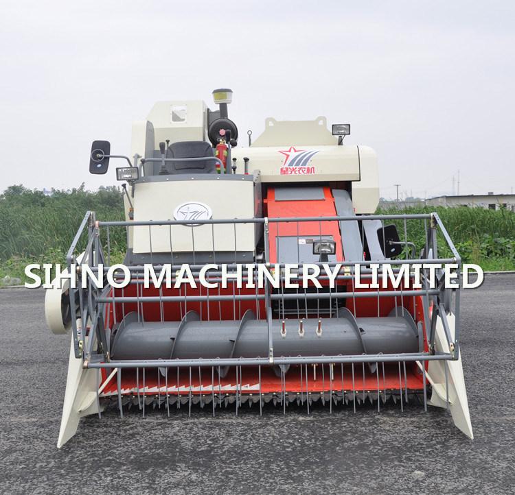 Lucky Star Combine Harvester 788zk Rice Combine Harvester