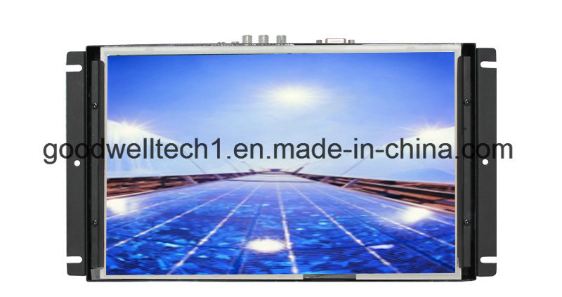"Metal Frame 10.1"" LCD Touch Screen Monitors"