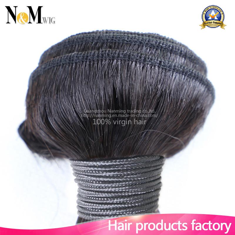 7A Unprocessed Brazilian Hair Weaving (QB-BVRH-LW)