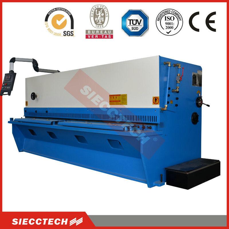 Guillotine Hydraulic CNC Shears for Aluminum, Aluminum Plate CNC Cutter Machine