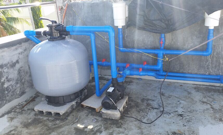 Top Mount Swimming Pool Fiberglass Sand Filter