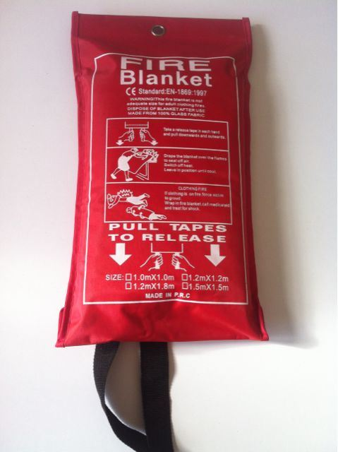 Family & Industrial Fiberglass Safety Fire Resistant Blanket With Ce Approved
