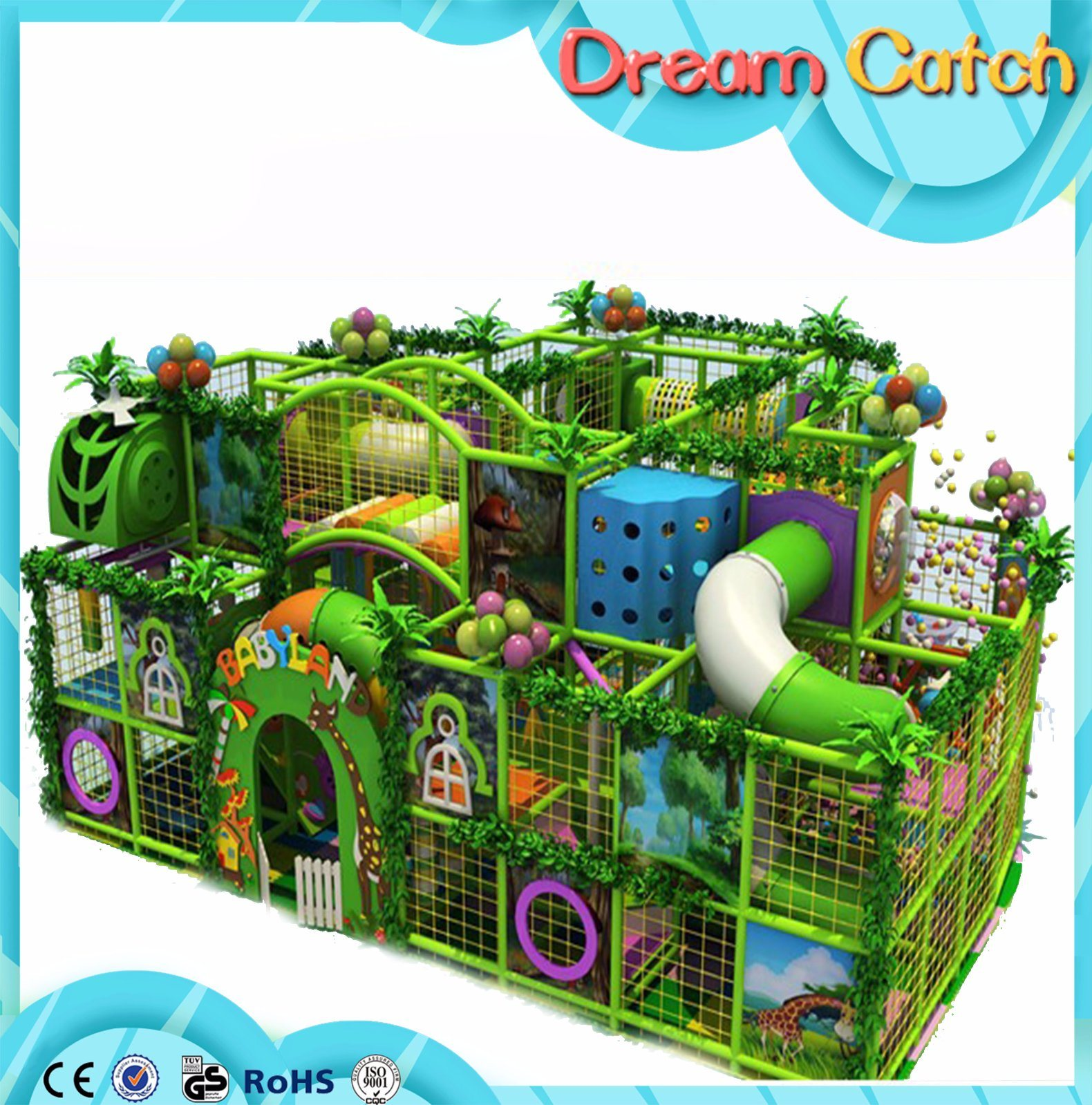 2017 Popular Kids Playground for Fun