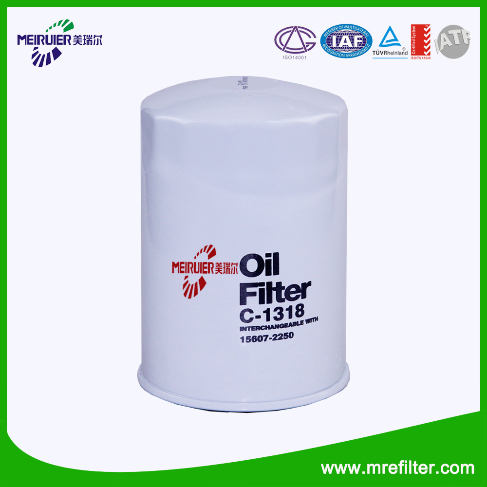 for Toyota Oil Filter 15607-2250 Auto Spare Parts China