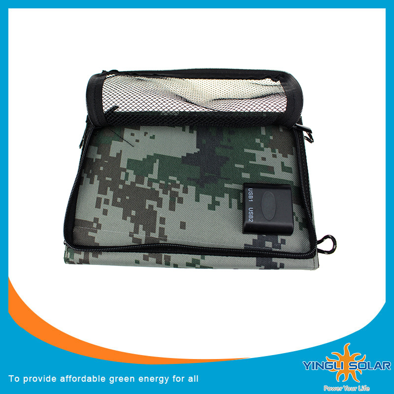7W Foldable Solar Charger for Mobile Phone (SZYL-SFP-07)