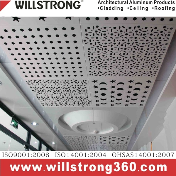 Aluminum Composite Panel Perforated for Ceiling