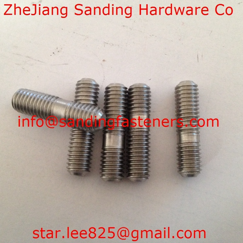 Stainless Steel Carbon Steel Double Head Bolts