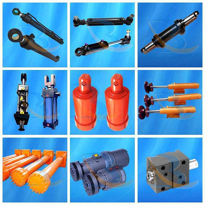 Aluminium Alloy Compact Small Hydraulic Cylinder