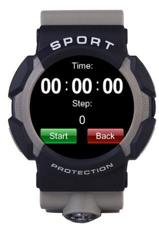 Multilingual! Waterproof Smart Watch No. 1 A10 3-Proof Sports Smartwatch
