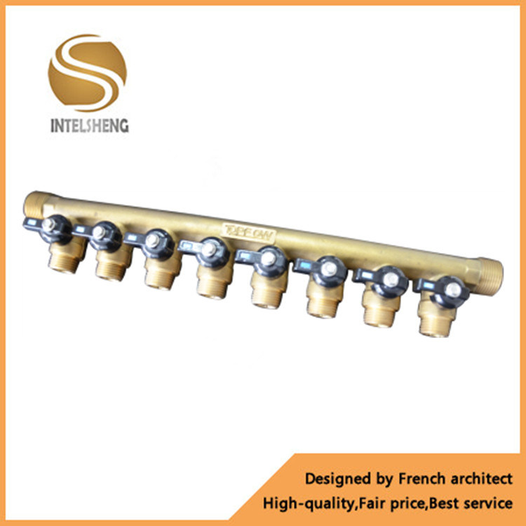 China Manifold Supplier Brass Manifold Valve