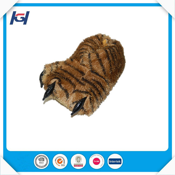 Top Sales Plush Animal Claws Slippers for Adults