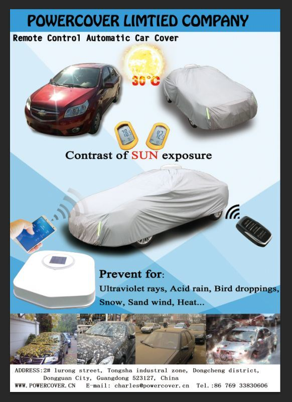 All New Automatic Car Cover-No APP and Solar