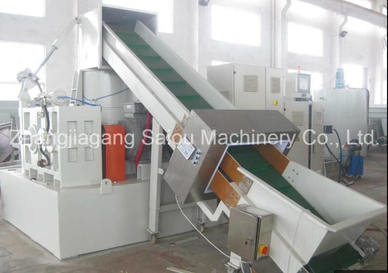 Waste PP PE Film Recycling Plastic Machine Factory