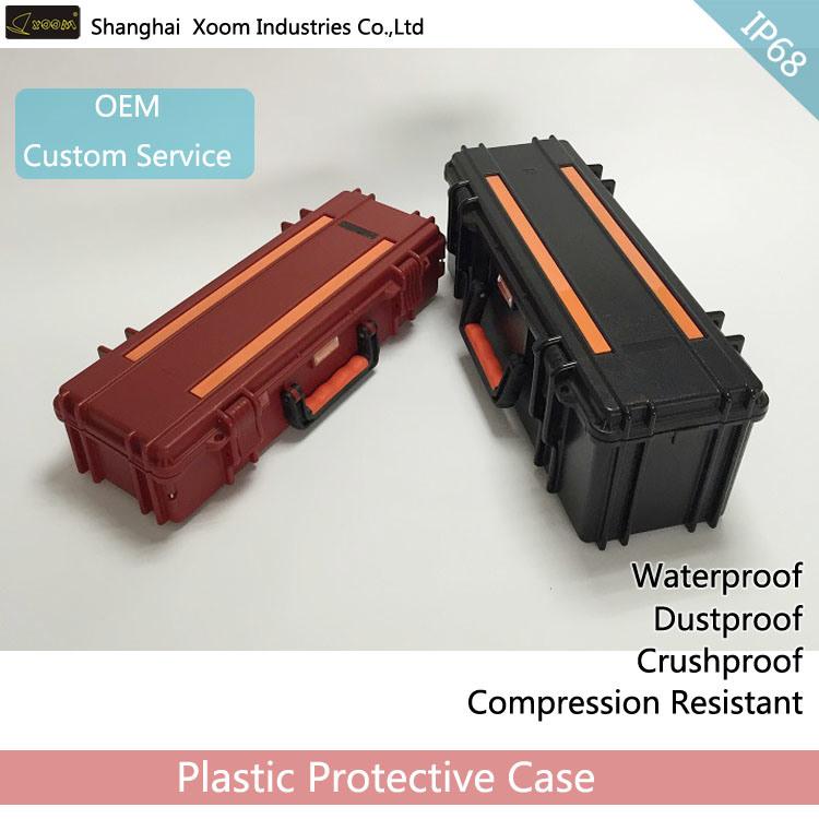 IP67 Long Waterproof Gun Case Telescope Case Detector Case