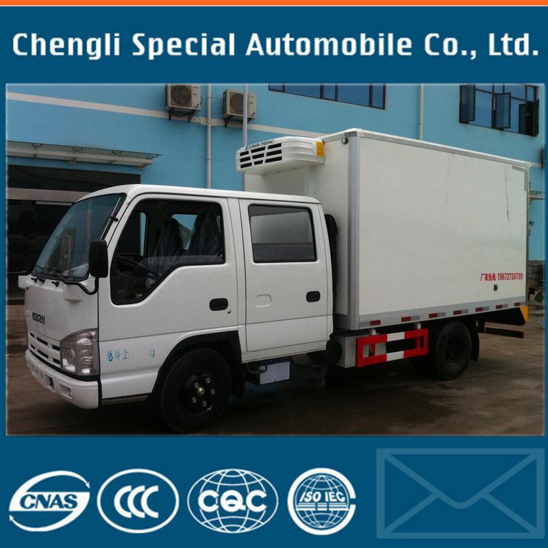 Isuzu 5tons 4X2 Qingling 600p 17cbm Freezer Truck with Refrigerator