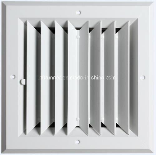Aluminum Square Ceiling Diffuser 2- Way