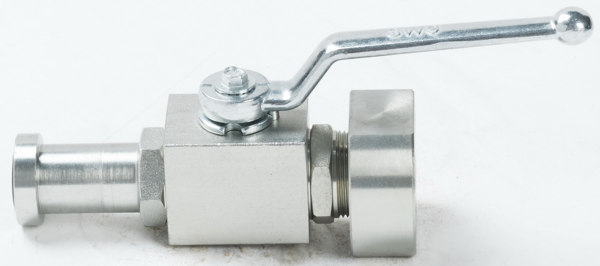 Ball Valve with SAE-Flanges